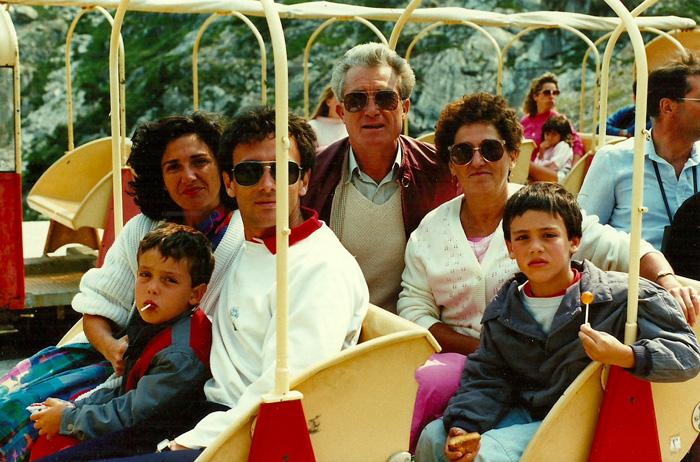 Famille Casol, Espagne 1986
