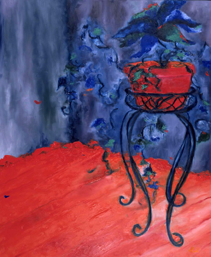 Maryse Casol, Épanouissement painting, 2004