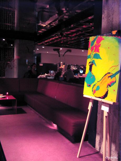 Maryse Casol Art Exhibition 2007, Buonanotte, Montreal, Canada