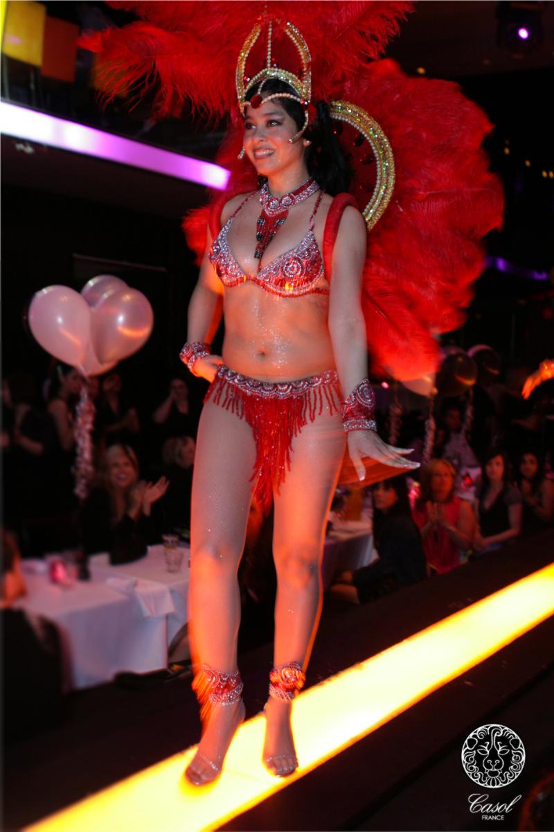 Maryse Casol women silk scarves, 2009