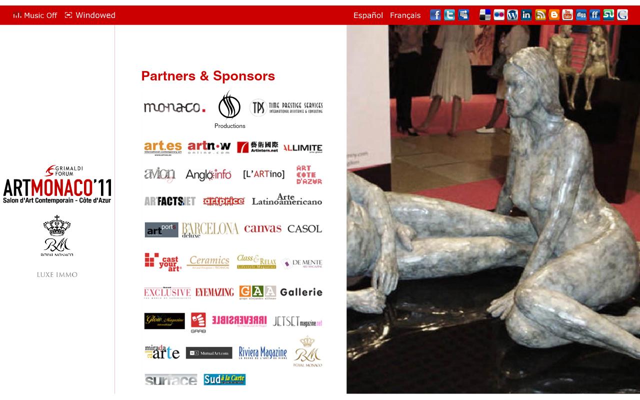 Casol, sponsor of Art Monaco 2011