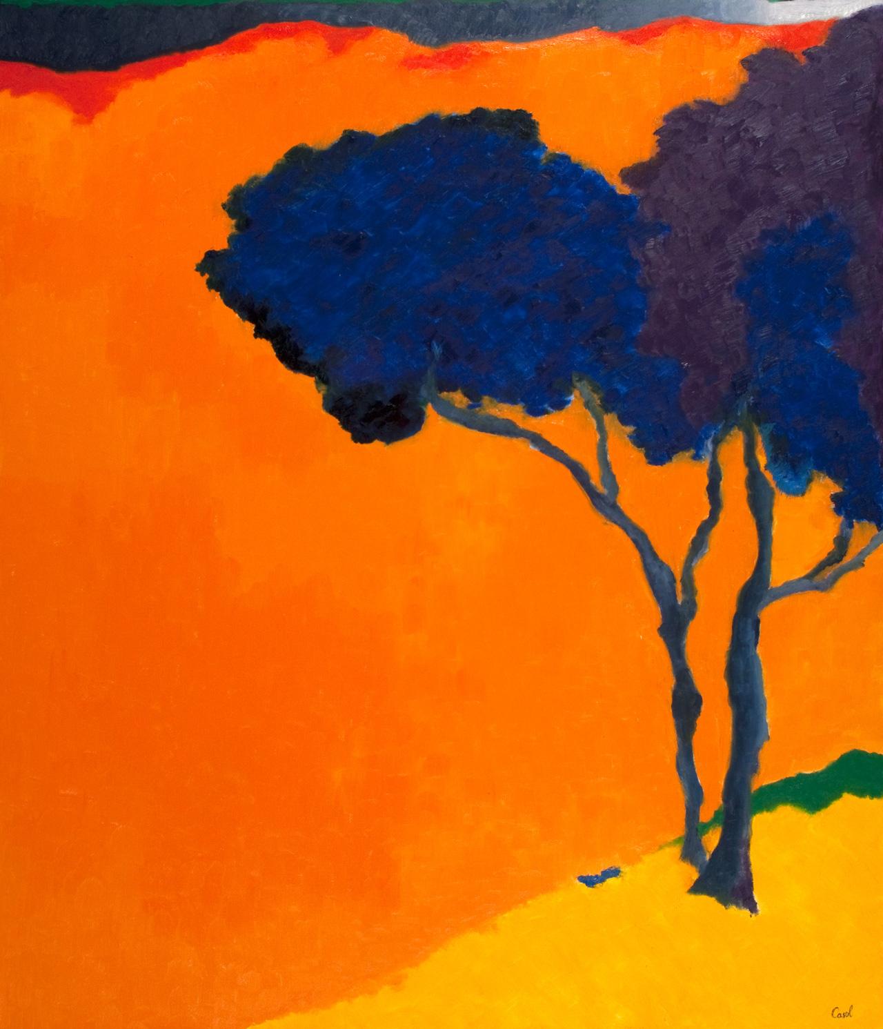 Shop Maryse Casol painting Ceci N'est Pas Un Arbre IV