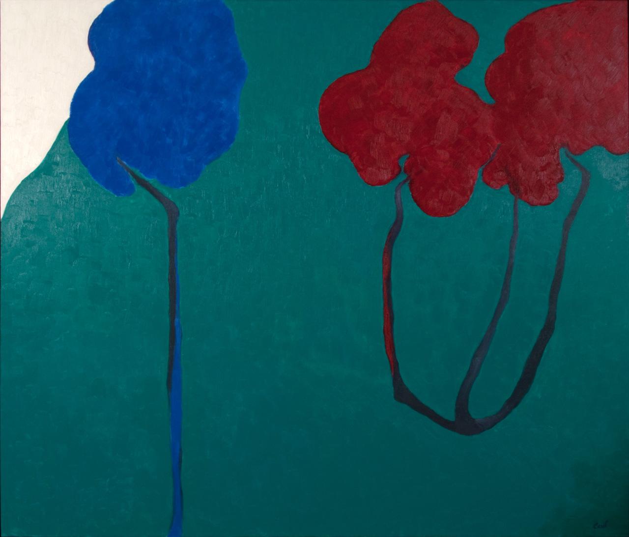 Shop Maryse Casol painting Ceci N'est Pas Un Arbre VIII