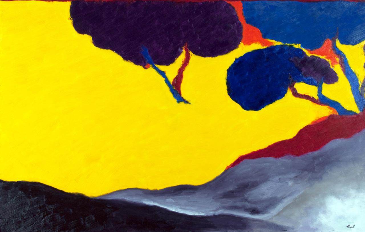 Maryse Casol painting Essentielle Simplicité II