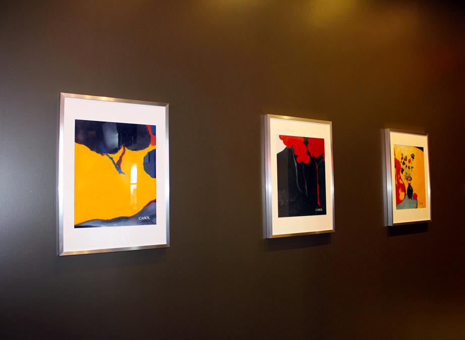 Maryse Casol, Presse Café Griffintown, Montreal, 2013