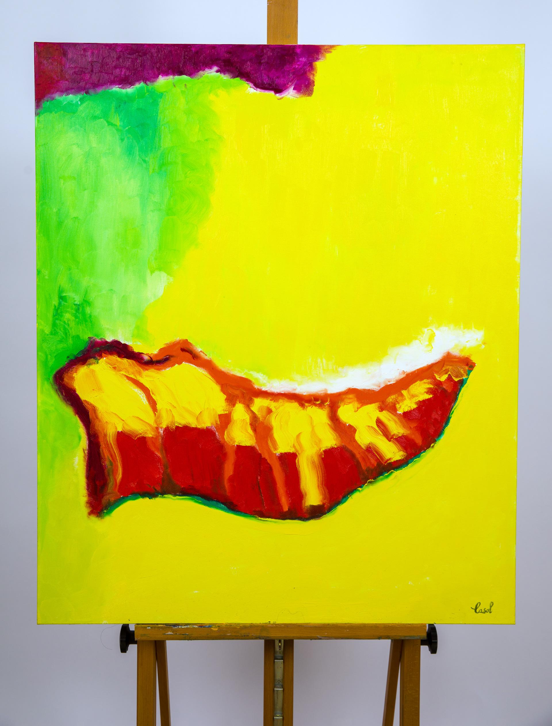 Maryse Casol, peinture Ode à la Joie, 2019