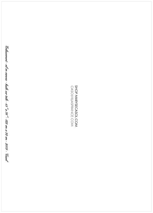 Maryse Casol notecard Enlassement