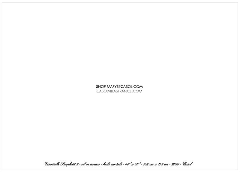 Maryse Casol notecard Essentielle Simplicité II