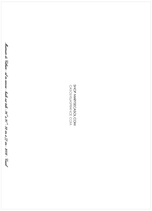 Maryse Casol carte de voeux Murmure de Cithare