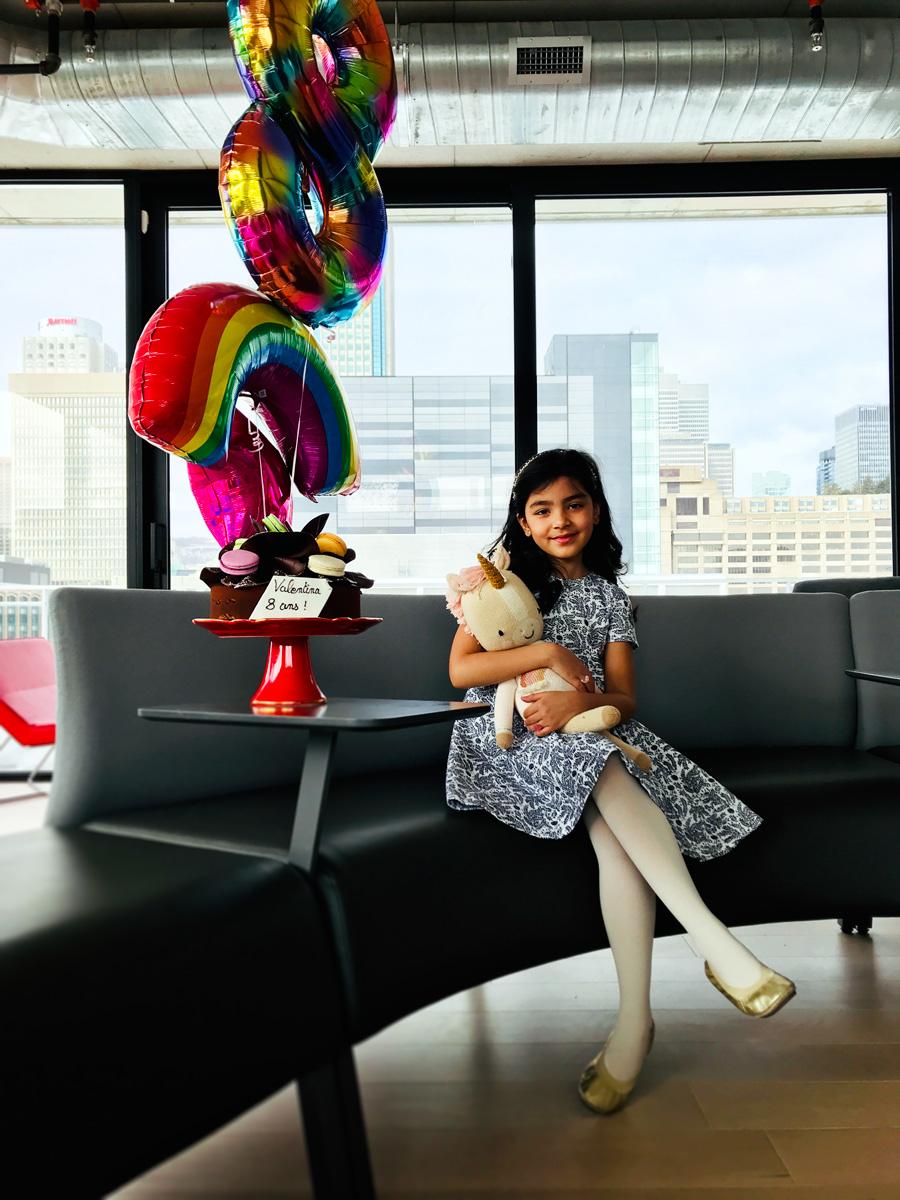 Valentina Casol, 8 ans, Montreal, Canada